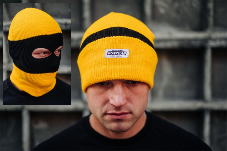 Hat Troublemaker Yellow/Black/Yellow