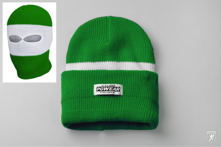 Hat Troublemaker Green/White/Green